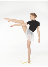 Dance Me Юбка-хитон детская UH54-6, сетка, белый