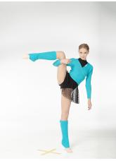 Dance Me Гетры RG1, акрил, светло-голубой (4)