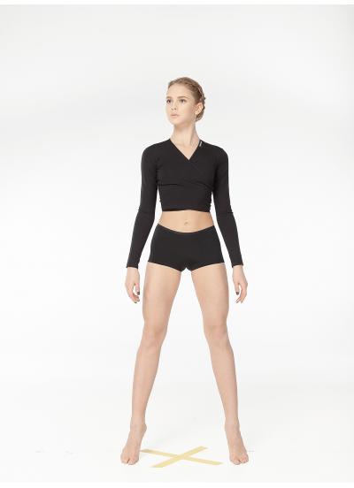 Dance Me Трусы-шорты женские ТР266, масло, черный