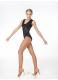 Dance Me Купальник женский K695, масло+гипюр+сетка, черный