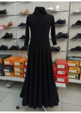 Платье Латина PS732# детское DANCEME, масло+бархат+креналин, черный