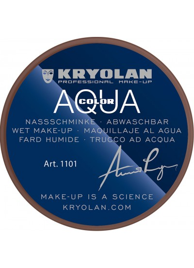 Kryolan Грим Aquacolor тонуючий, 1101, 8мл