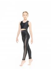 Dance Me Топ TP900 детский, бифлекс, чорный