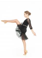 Dance Me Юбка UL34-14 детская, масло, сетка, чорный