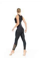 Dance Me Лосины L810-17 женские, бифлекс, сетка, чорный