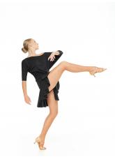 Dance Me Блуза BL241 женская, вискоза, чорный