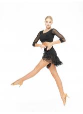 Dance Me Топ TP488DR женский, масло, сетка, чорный
