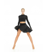 Dance Me Топ TP734DR женский, масло, чорный