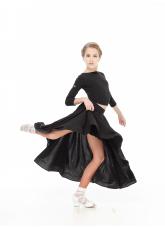 Dance Me Юбка US435# детская, масло/кринолин, черный