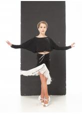 Dance Me Топ TP764 детский, масло, черный