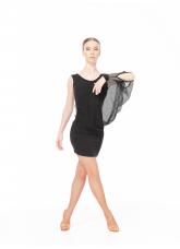 Dance Me Платье PL240-18 женское, масло/крупная сетка , черный