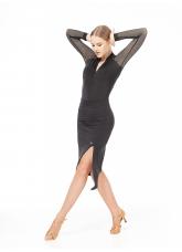 Dance Me Юбка UL591-14 женская, микромасло, черный