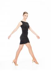 Dance Me Блуза BL296 женская, вискоза, черный