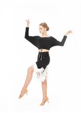 Dance Me Топ TP764 женский, масло, черный