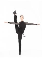 Dance Me Брюки женские BRL399, масло, черный