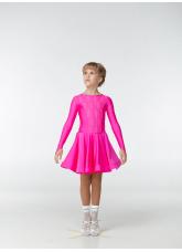 Рейтинговое платье 420-1 ДР-К-Кр Dance.Me, бифлекс, малиновый
