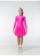 Dance Me Рейтинговые платья / Бейсик BS67DR, малиновый