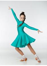 Dance Me Рейтинговые платья / Бейсик 67ДР-К, зеленый