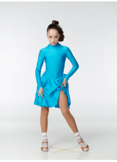 Dance Me Рейтинговые платья / Бейсик 67ДР-К-23, лазуревый