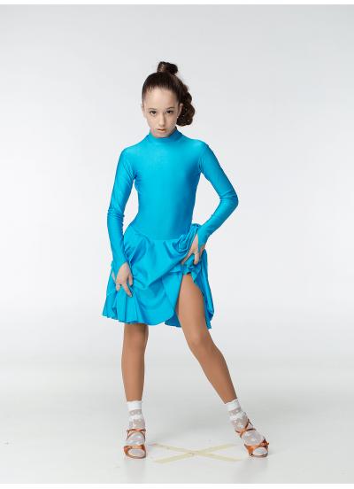 Dance Me Рейтинговые платья / Бейсик BS67DR, лазуревый