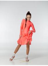 Dance Me Рейтинговые платья / Бейсик 67ДР-К, корал неон