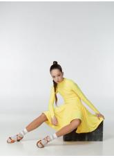 Dance Me Рейтинговые платья / Бейсик BS67DR#, желтый