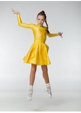 Бейсик 319ДР-402-11 Dance.me, Украина, Бифлекс+гипюр, Золотой №15