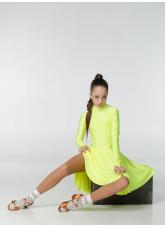 Dance Me Рейтинговые платья / Бейсик 67ДР-К, лимонный