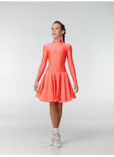 Dance Me Рейтинговые платья / Бейсик 67ДР-К-КР, корал неон