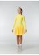 Dance Me Рейтинговые платья / Бейсик BS67DR, желтый
