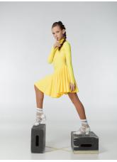 Dance Me Рейтинговые платья / Бейсик 67ДР-К, желтый