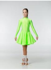 Рейтинговое платье 67ДР-К-Кр Dance.Me, салатовый