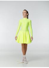 Рейтинговое платье 67ДР-К-Кр Dance.Me, лимоный