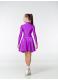 Dance Me Рейтинговые платья / Бейсик 67ДР-К, фиолетовый
