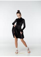 Бейсик 67-13ДР Dance.me, Украина, бархат, черный