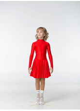 Dance Me Рейтинговые платья / Бейсик 67ДР-К, красный