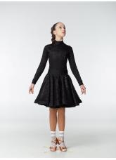 Dance Me Рейтинговые платья / Бейсик 198-274-11, черный, бифлекс+гипюр