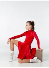 Бейсик 67-13ДР-Кр Dance.me, Украина, Бархат, Красный