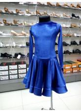 Рейтинговое платье 420-13А-ДР-Кр Dance.Me, электрик
