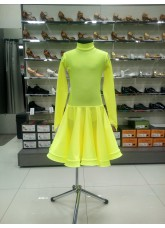 Рейтинговое платье 67 ДР-К-Кр Dance.Me, лимоный