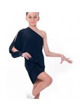 Dance Me Платье детское ПЛ169-4, масло / кружево, черный