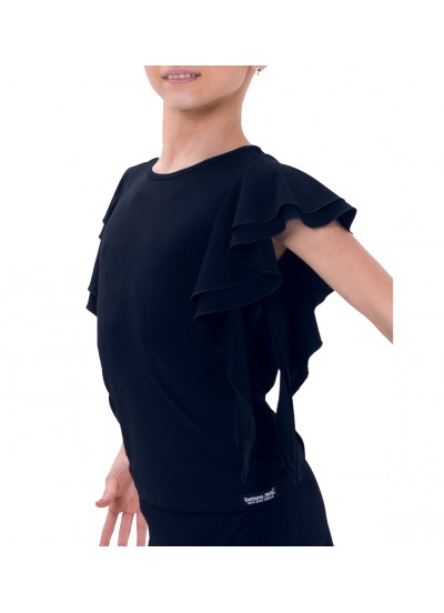 Dance Me Блуза детская БЛ24, масло, черный