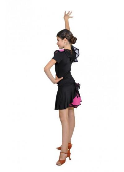Dance Me Блуза женская БЛ96Кр-3, масло / сетка, розовый