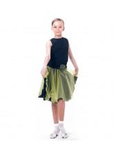 Dance Me Блуза детская БЛ165, масло, черный