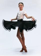 Dance Me Юбка для девочки ЮЛ402-14, масло, черный