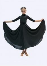 Платье Стандарт ПС423 Dance.me, Украина, Масло, Черный