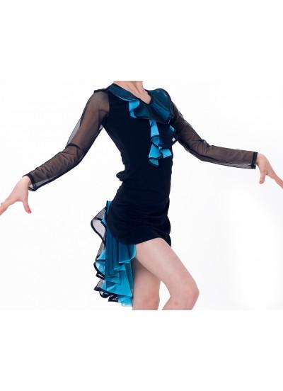 Dance Me Юбка для девочки ЮЛ48, масло, голубой