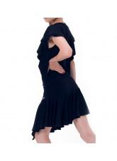 Dance Me Юбка для девочки ЮЛ146, масло, черный