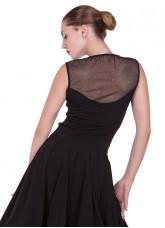 Блуза женская  БЛ221-8-11 Dance.me, Украина, Масло+гипюр, Телесный