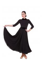 Платье Стандарт ПС423 женское Dance.me, Украина, Масло, Черный